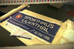 Banner Sporthaus Lilienthal